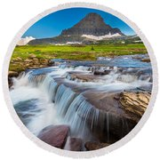 Reynolds Creek Falls Round Beach Towel