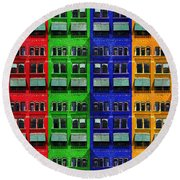 Rgby - Downtown Apartments Round Beach Towel