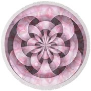 Ribbons Round Beach Towel