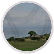 Rift Valley Photographic Lodge Round Beach Towel
