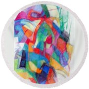Righteous Step 2  Round Beach Towel