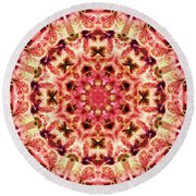 Ring Of Divinity Round Beach Towel