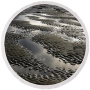 Rippled Sand Round Beach Towel