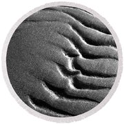 Ripples 5 Round Beach Towel
