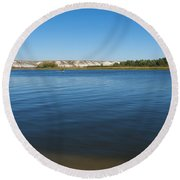 River Don Round Beach Towel
