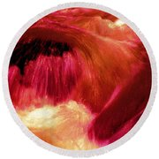 River From Hell Round Beach Towel