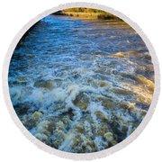 River Medway Kent Round Beach Towel