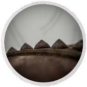 Riveted Round Beach Towel