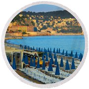 Riviera Full Moon Round Beach Towel