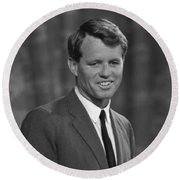 Bobby Kennedy Round Beach Towel