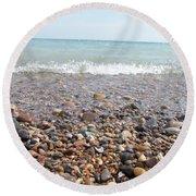Rock Collector Round Beach Towel