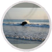 Rock Star Round Beach Towel