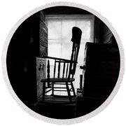 Rocking Chair Round Beach Towel by Bob Orsillo