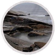 Rockport Seagull Round Beach Towel