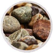 Rocks Round Beach Towel