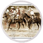 Rodeo Grandentry Round Beach Towel
