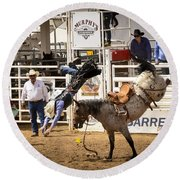 Rodeo High Flyer Round Beach Towel