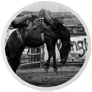 Rodeo Power Of Conviction Round Beach Towel