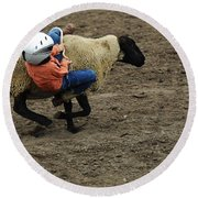 Rodeo Velcro Rider 2 Round Beach Towel