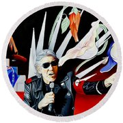 Roger Waters-the Wall Round Beach Towel