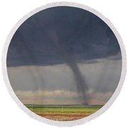 Roggen Tornado 4 Round Beach Towel