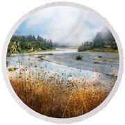 Rogue River Round Beach Towel