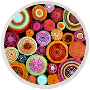 Rolls Round Beach Towel by Delphimages Photo Creations