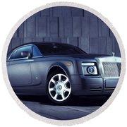 Rolls Royce 3 Round Beach Towel