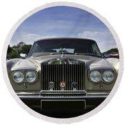 Rolls Royce Corniche 1980 Round Beach Towel