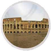 Roman Colosseum  Round Beach Towel