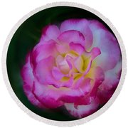 Romancing The Rose Round Beach Towel