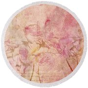 Romantiquite -  28at22 Round Beach Towel