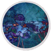 Romantiquite -  55at22 Round Beach Towel