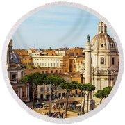 Rome, Italy. Rome, Italy. Piazza Della Round Beach Towel