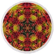 Roomum Round Beach Towel