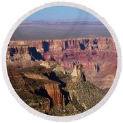 Roosevelt Point Landscape Round Beach Towel