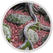 Roots Round Beach Towel by Edward Fielding