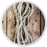 Rope Round Beach Towel