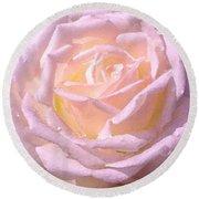 Rose 169 Round Beach Towel