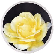 Rose 196 Round Beach Towel by Pamela Cooper