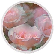 Rose 243 Round Beach Towel