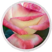 Rose Among The Thorns Round Beach Towel