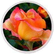 Rose Beauty Round Beach Towel