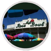 Rose Bowl Round Beach Towel