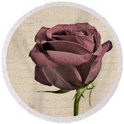 Rose En Variation - S02c3t3a Round Beach Towel