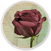 Rose En Variation - S23ct06 Round Beach Towel