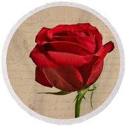 Rose En Variation - S2at03a Round Beach Towel