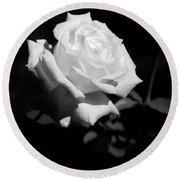 Rose - Infrared Round Beach Towel