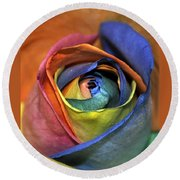 Rose Of Equality Round Beach Towel