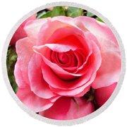 Rose Roses Round Beach Towel